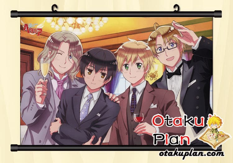 Axis Powers The Banquet Wallpaper Wall Scroll Poster - Poster