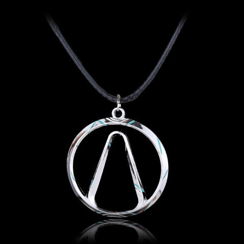 Image of Borderlands Vault Symbol Choker Pendant Necklace Fashion Jewelry - Accessories
