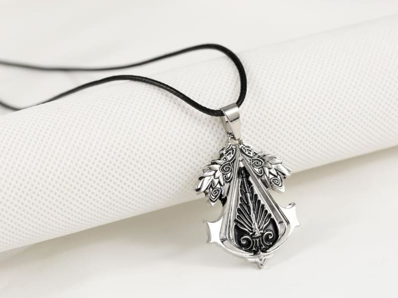 Christmas Gift Game Assassins Creed Pendants Metal Alloy Necklace - Accessories