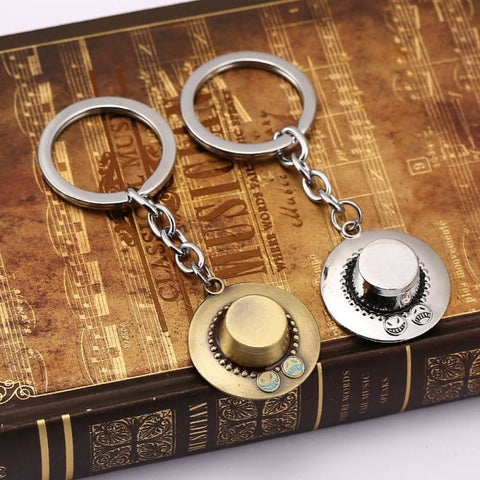 Image of One Piece Pendants Metal keyring Anime Keychain For Fans-OtakuPlan