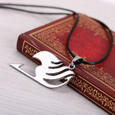 Image of Fairy Tail Logo Metal Cosplay Jewelry Anime Figure Pendant Necklace-OtakuPlan