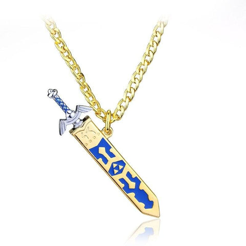 Image of Legend of Zelda Removable golden and silver Men Necklace-OtakuPlan