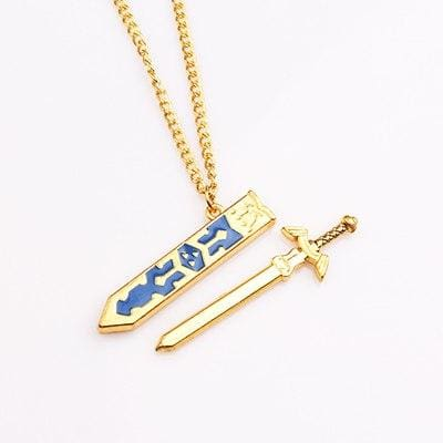 Legend of Zelda Removable golden and silver Men Necklace-OtakuPlan