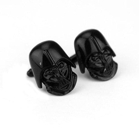 Image of Star Wars series Men's Fashion Alloy Cufflinks Boy friend Gift-OtakuPlan