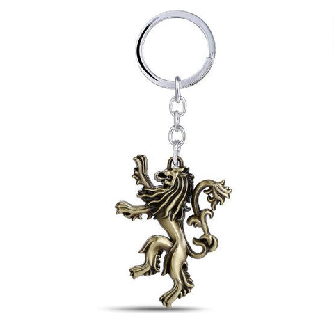 Image of House Stark Key Chain Song Of Ice And Fire Key Rings Holder-OtakuPlan