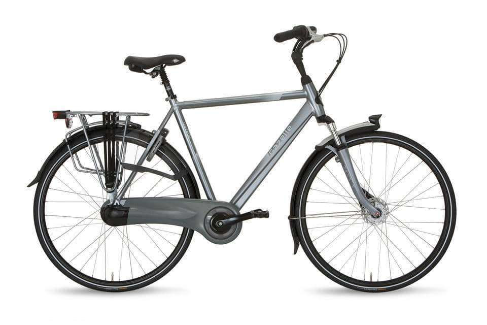 Gazelle Orange C7+ Heren -Industry grey-53 cm - Fietsenconcurrent.nl