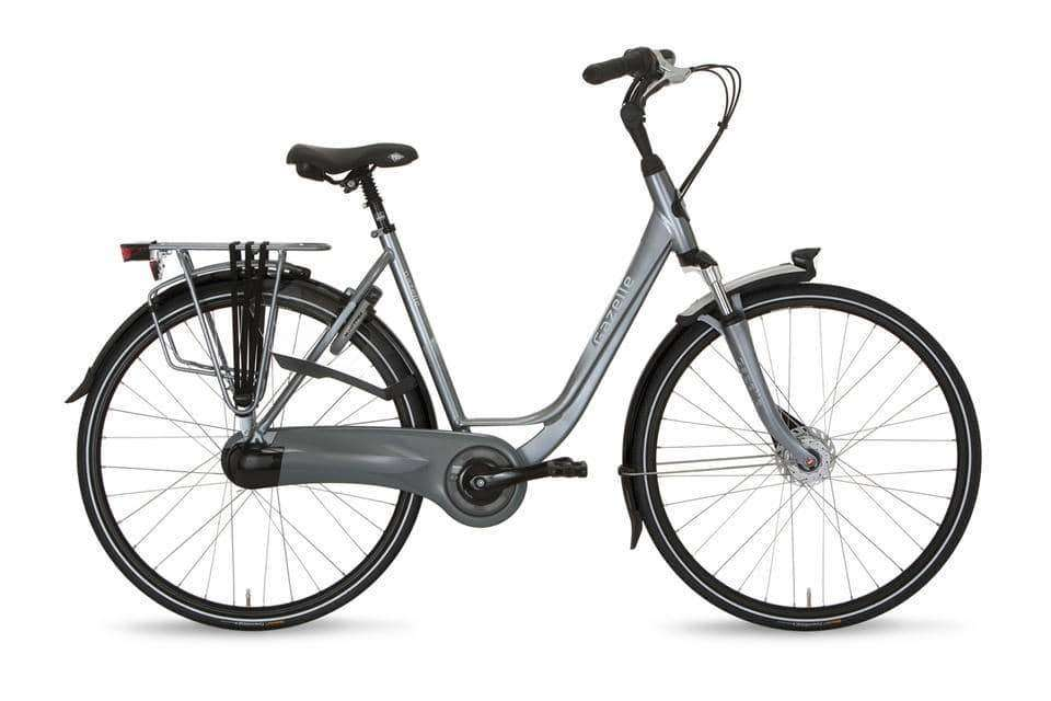 Gazelle Orange C7+ Dames -53 cm-Industry grey - Fietsenconcurrent.nl