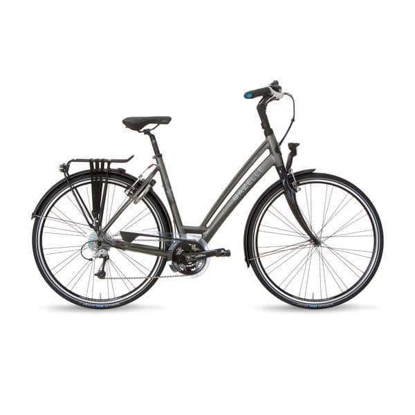 Gazelle Chamonix S27 2015 Dames -Night black-57 cm - Fietsenconcurrent.nl