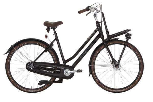 Gazelle Miss Grace 7 2015 Dames-Black-54 cm - Fietsenconcurrent.nl