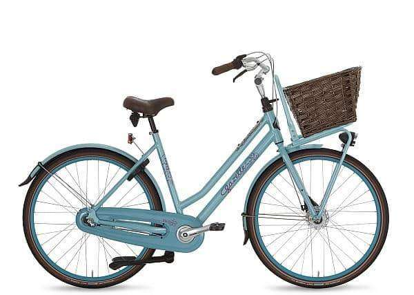 Gazelle Miss Grace 3 2015 Dames-Atlantic Blue -49 cm - Fietsenconcurrent.nl