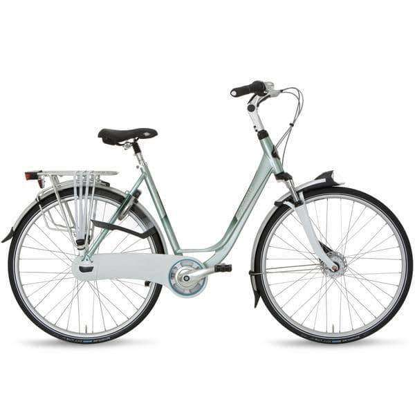 Gazelle Orange C8 2015 Dames-Turquoise-53 cm - Fietsenconcurrent.nl