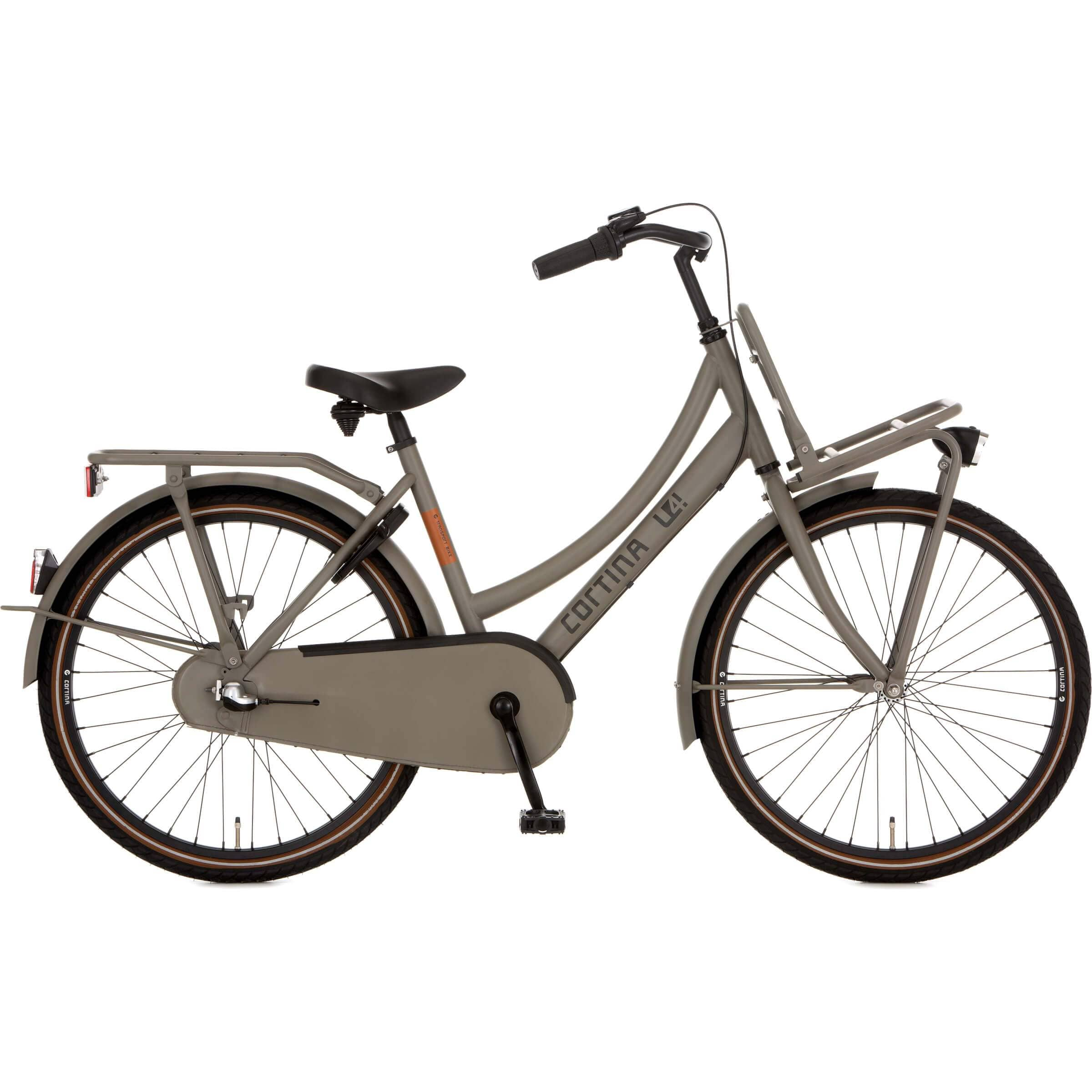Cortina U4 Transport Solid Mini RN3 26 inch 2020 Meisjes - Fietsenconcurrent.nl