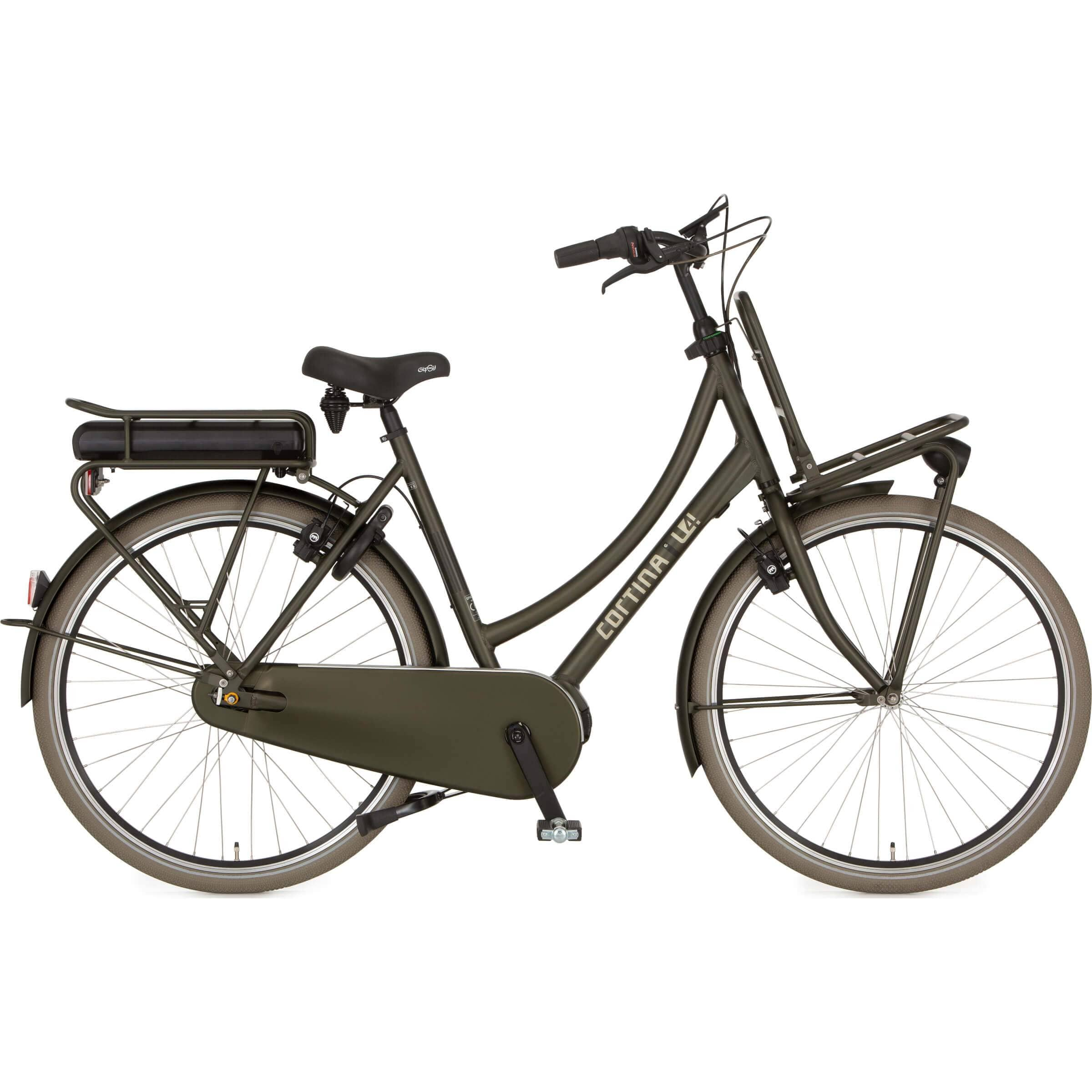 Cortina E-U4 Transport Deluxe MM N8 2020 Dames - Fietsenconcurrent.nl