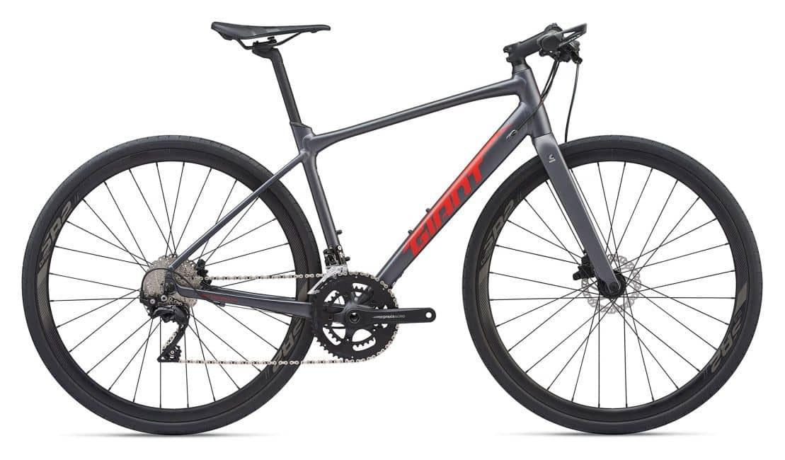 Giant Fastroad SL 1 2020 Heren Black/Red