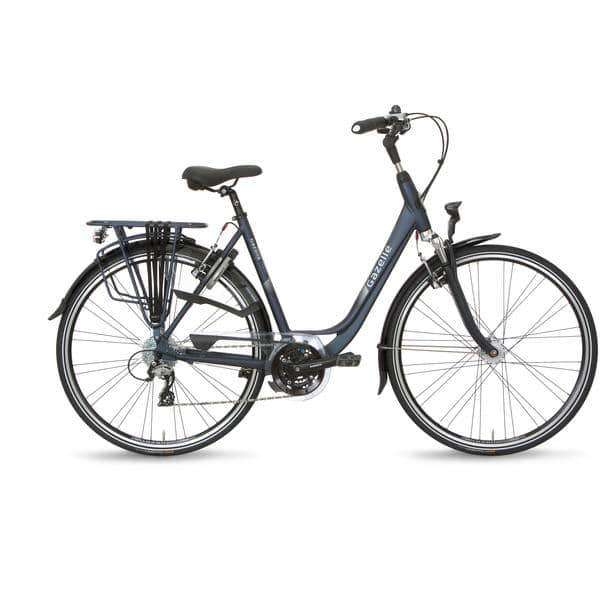Gazelle Orange T24 2015 Dames -Briljant blue-53 cm - Fietsenconcurrent.nl