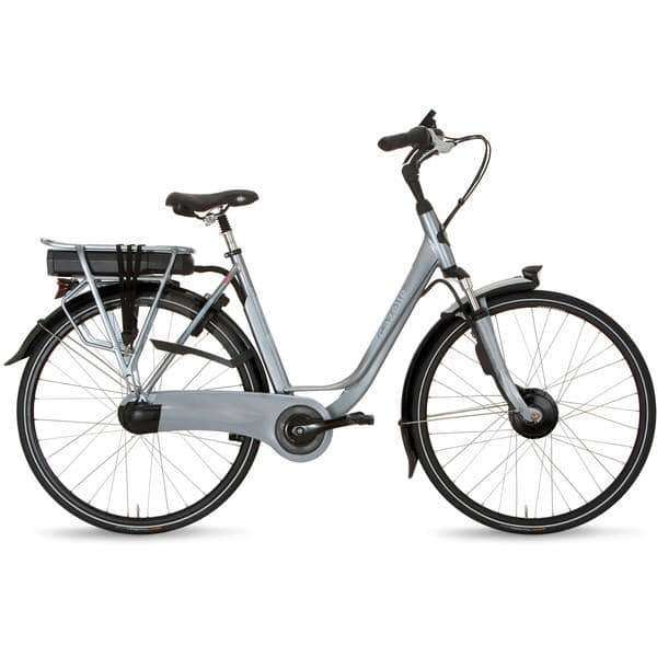 Gazelle Orange C7+ Hybrid F 2015 Dames -Industry grey-49 cm - Fietsenconcurrent.nl