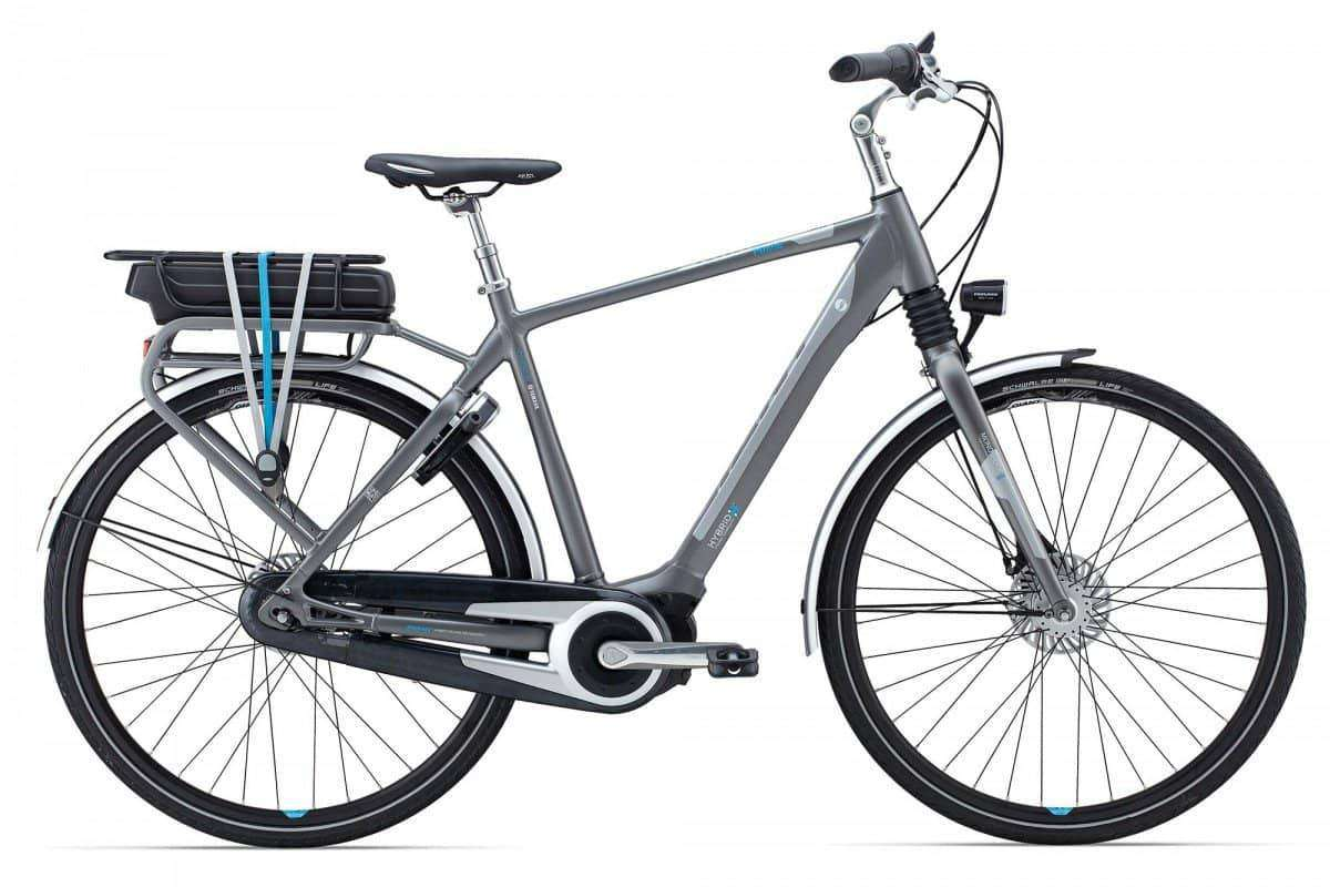 Giant Prime E+ 2 2015 Heren-Grey-XL - Fietsenconcurrent.nl