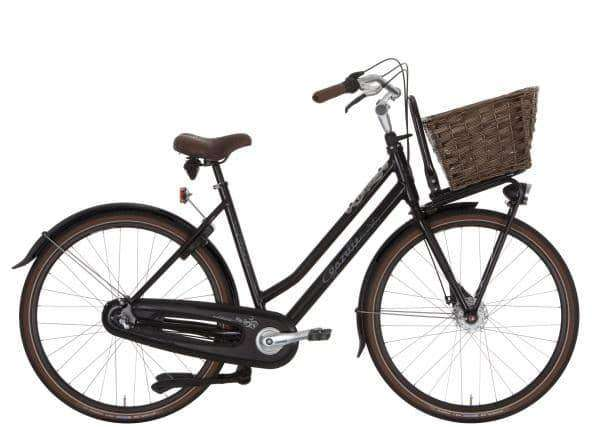 Gazelle Miss Grace 3 2015 Dames-Black-54 cm - Fietsenconcurrent.nl