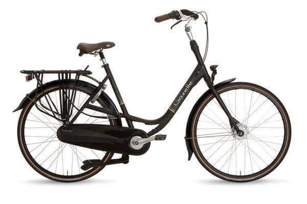 Gazelle Bloom Dames -Black mat-49 cm - Fietsenconcurrent.nl