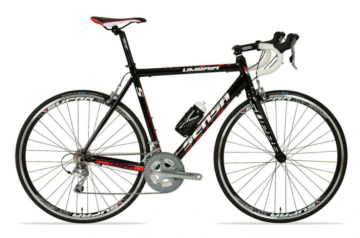 Sensa Umbria Tiagra 2015 Heren-Black red-54 cm - Fietsenconcurrent.nl