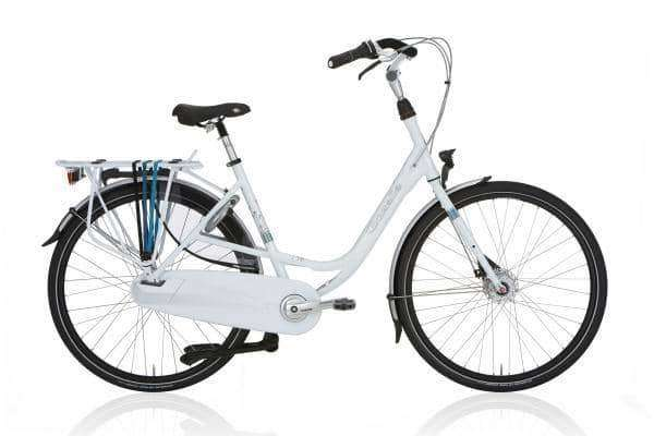 Gazelle Bloom Dames -Premium white-61 cm - Fietsenconcurrent.nl
