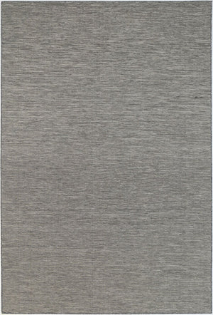 Nimes Reversible Indoor Outdoor Grey Black Rug