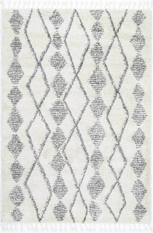 Safi All in Line Cream Grey Rug