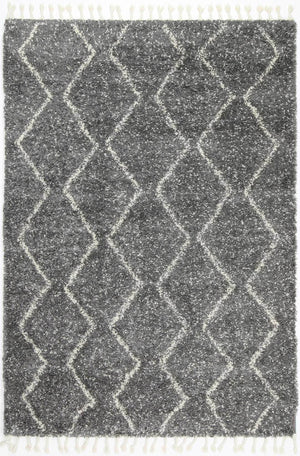 Safi Pure Tribal Fleck Grey Rug