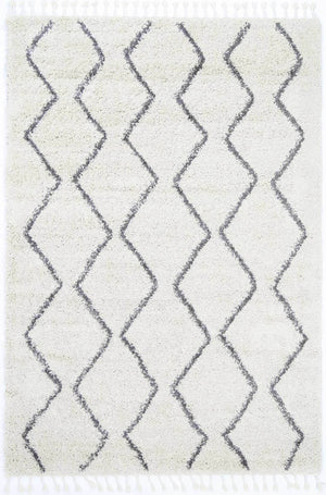 Safi Pure Tribal Cream Rug