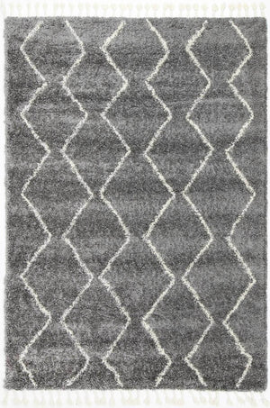 Safi Pure Tribal Grey Rug
