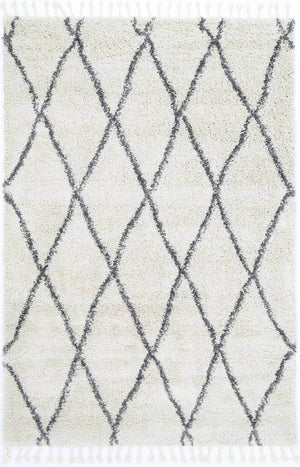 Safi Perfect Diamond Tribal Cream Rug