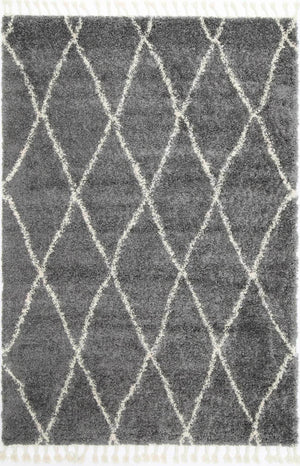 Safi Perfect Diamond Tribal Grey Rug