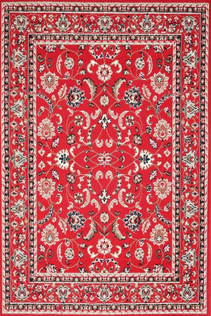 Toulouse Rug Traditional Red Rug