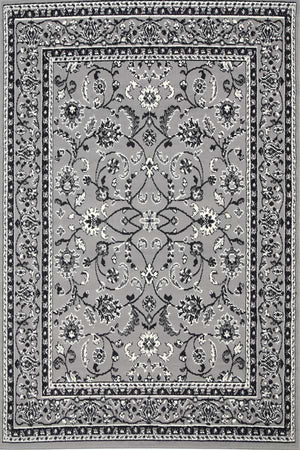 Toulouse Rug Traditional All Grey Rug