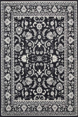 Toulouse Rug Traditional Black Rug