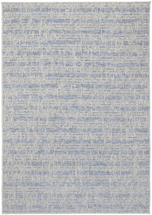 Sorrento Sahara Light Grey Blue Indoor/Outdoor Rug
