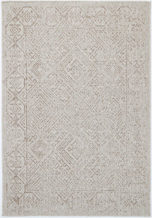 Sorrento Sefrou Cream Beige Indoor/Outdoor Rug
