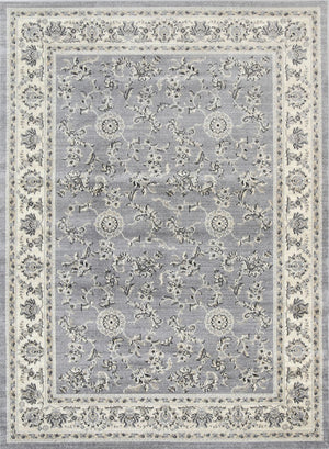 Chambery Flower Dance Grey Cream Rug