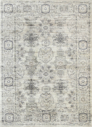 Chambery Inca Field Cream Grey Rug