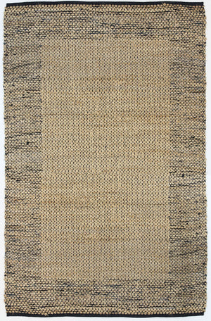 Allier Black Border Jute Rug