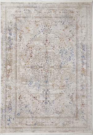 Starlight Flower Vintage Beige Multi Rug