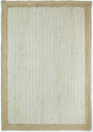 Charente Pearl Centre Jute Rug