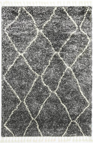 Safi Inperfet Diamond Grey Rug