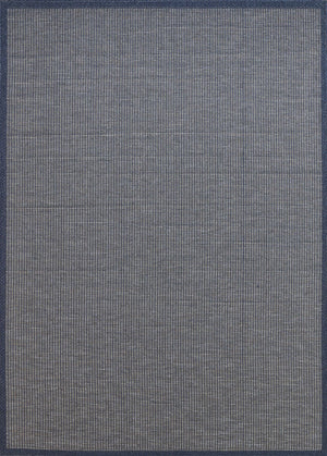 Calais Simple Blue Grey Rug