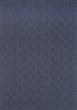 Calais Simple Diamond Blue Rug