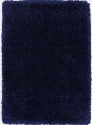 Wagner Super Soft Shag Navy Blue Rug