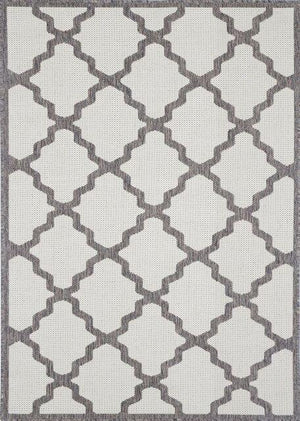 Monte Marrakech Grey Brown Outdoor/Indoor Rug