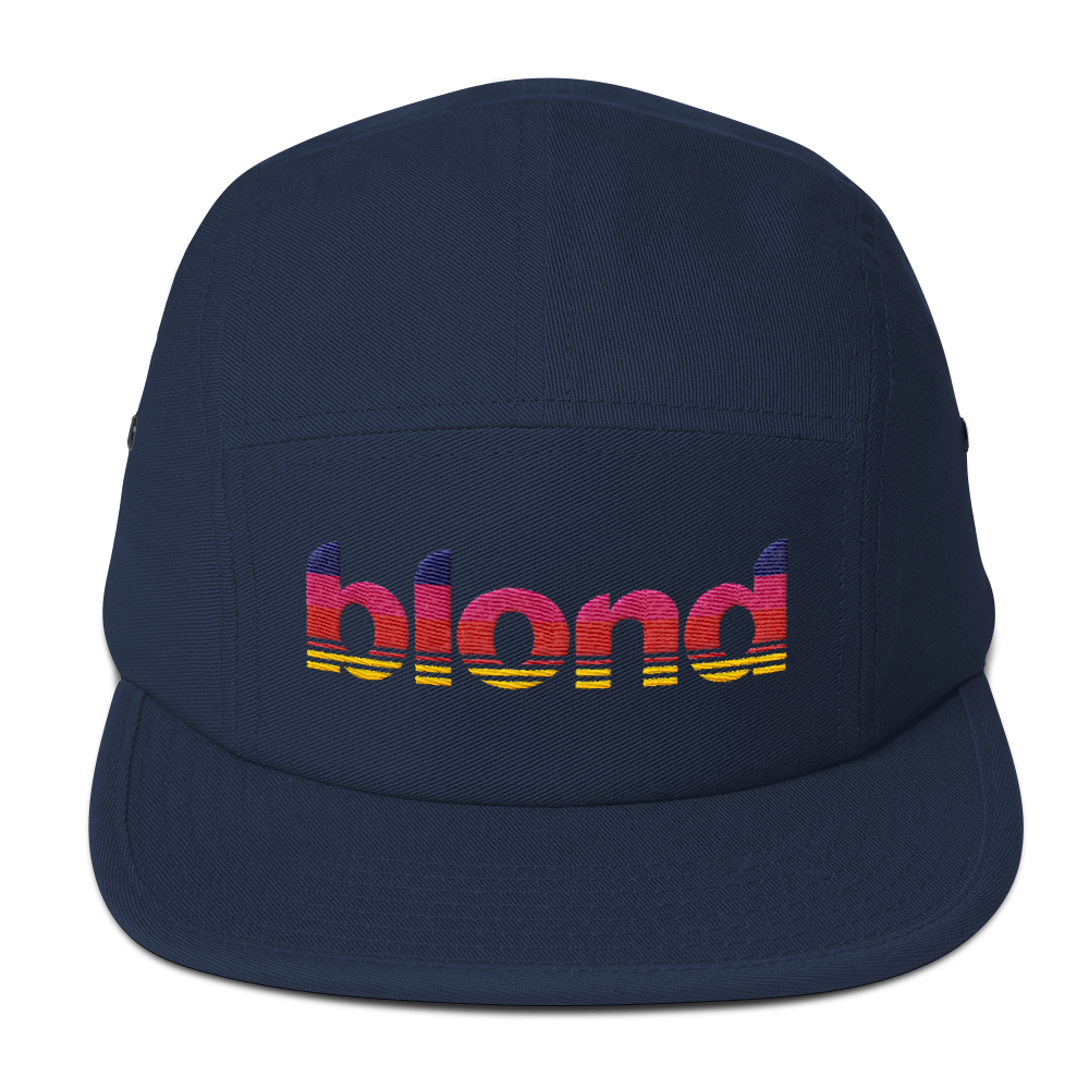 Blonde Five Panel Cap
