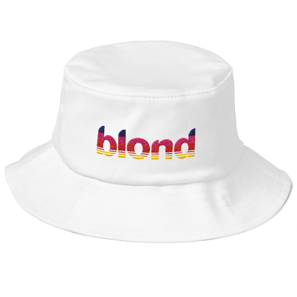 Blonde Bucket Hat