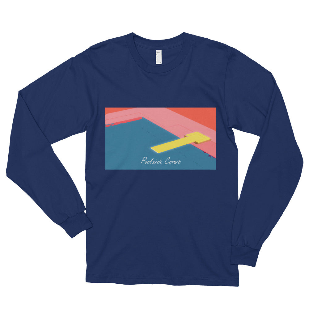 Self Control Long Sleeve Blue